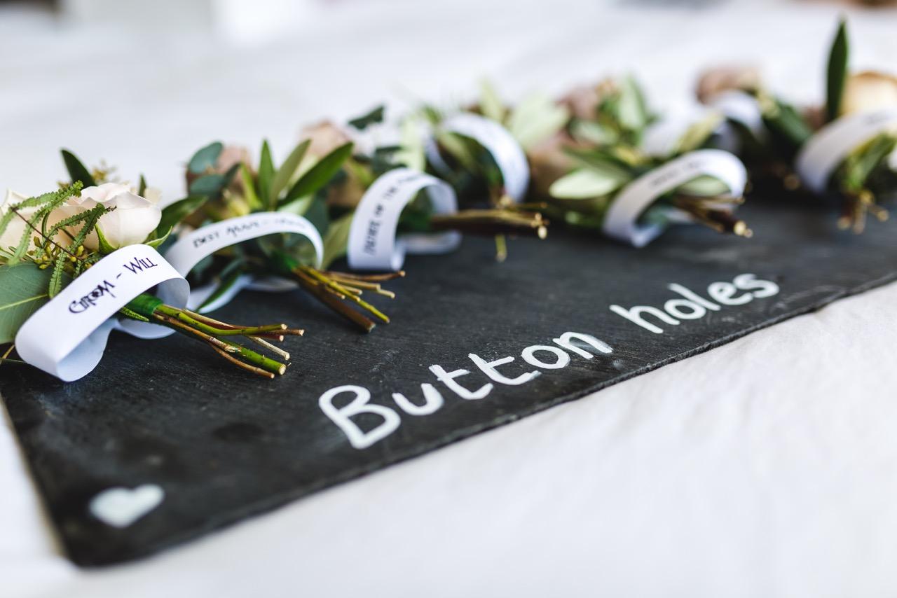 Norfolk based independent celebrants - Button Holes