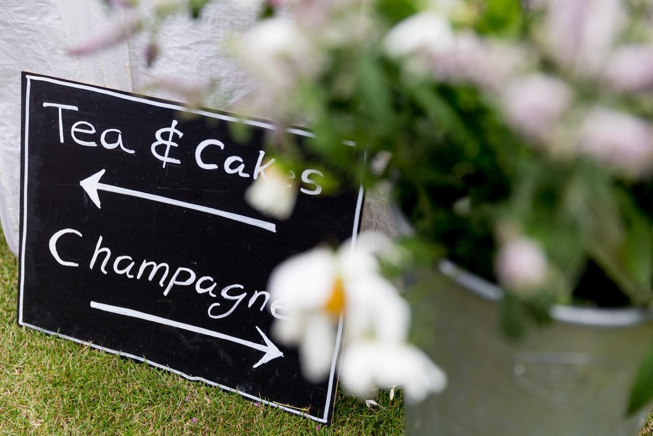 Norfolk based independent celebrants - Direction Sign