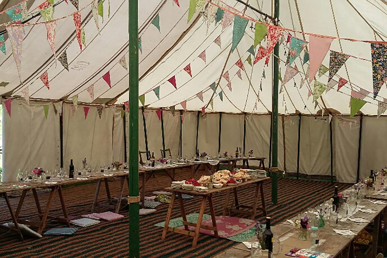 Norfolk based independent celebrants - Wedding Tent